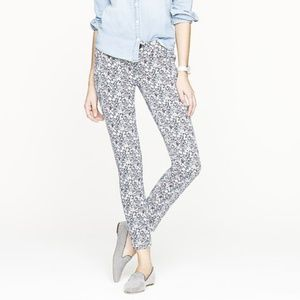 J Crew Liberty For London Toothpick Jeans